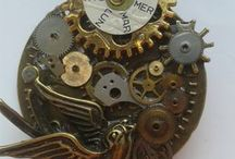 Steampunk Jewellery / Steampunk Jewellery hand-made by Sue Thomas of LoveTaliesin Jewellery