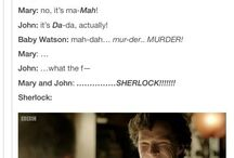 Mostly Benedict Cumberbatch and Mrs Hudson from Sherlock