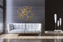 woodener wall circles