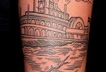Xilogravura tattoo