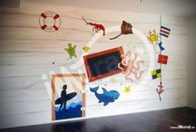Kids Theme Mural (Wall Painting)
