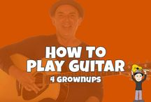Beginner Guitar for Grownups / In my guitar learning series Beginner Guitar for Grownups I've created a series of beginning guitar lessons specifically for busy adults.  This series is not for the quick fix minded... Or those wanting to learn a few heavy metal or rock guitar licks.