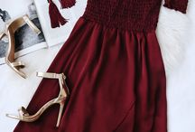 dresses/style/hairstyle