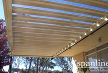 Spanline Opening Roofs / The weather is always changing – so why shouldn't your outdoor area? Alfresco SlidaSpan® is the flexible all-weather solution you have been waiting for. Completely waterproof when closed and letting in beautiful, filtered sunlight when open.  Alfresco SlidaSpan® - because having options is always a good thing.