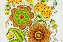 dessins florales