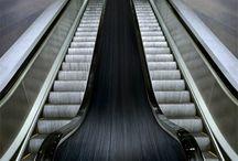 Cool escalator adds