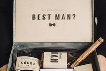 Témoins / Groomsmen / Groomsmen style ideas and gifts. More on www.placedumariage.fr