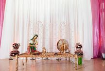 Traditional Indian Decor / Traditional Indian Decor look we created for Tulsi Vishal
