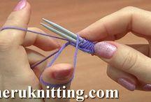 Youtube knitting / knitting