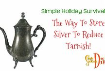 Simple Holiday Survival / The Diva shares simple tips & recipes to make your holidays easier! #SimpleHolidaySurvival
