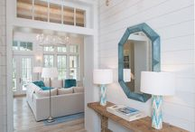 Elegant Coastal Decorating Inspiration / Great inspiration for decorating with a beach theme.