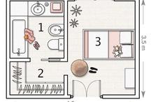 Slaapkamer plattegrond