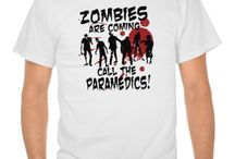Zombies Are Coming! / Ok I don't really think zombies are coming, but zombie movies are some of my favorite! What about you? Do you like zombies too? Check out the unique zombie lovers t-shirts and gifts below if you do!