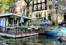 Houseboats - Amsterdam