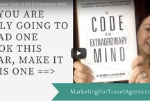Great Books Every Travel Agent Should Read / Continual education is crucial for your success as a business owner and entrepreneur. These are some of my favorite book recommendations for Travel Agents and entrepreneurs.