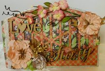 Sa Crafters Chipboard albums / This board is about chipboard albums by using Sa Crafters products