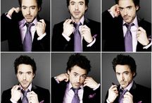 Robert Downey Jr / Fancy him since his Ally McBeal era