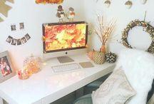 Осенний декор:)