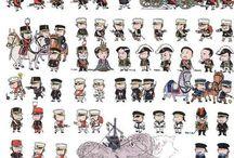 militares chibis