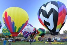 Over 50 Magical Hot Air Balloons! / Our gentle giants are scheduled to fly twice daily at Carolina BalloonFest! Five weekend flights and a Saturday Evening Balloon Glow!