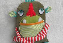 Toy Art em tecido