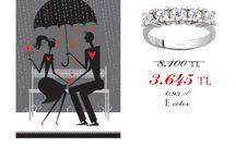 14 Şubat Sevgililer Günü Hediyeleri / #pirlanta #tektas #5tas #sevgililergünühediyesi