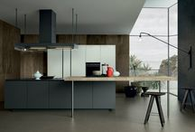 Artex Kitchen / Broad surfaces and essential lines highlight quality materials