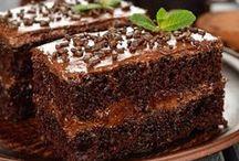 tarta de chocolate rellena de crema de chocolate