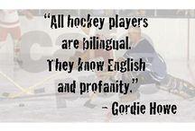 Hockey Sayings
