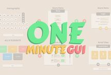 One Minute GUI - Unity3D - Asset Store / Link: u3d.as/cr || 450+ Icons | 30+ Components | 20+ Buttons | 10 Menus | Ready-Made Menu Example | Hover & Menu Animations | Custom Font | One Sound