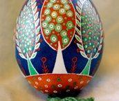 uova dipinti
