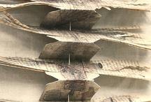 arte-libro-collages / libro de artista, cuadernos de apuntes, libros de viajes, cuedernos de dibujo, collages / by Eva Hiernaux