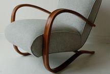 Sivs stol