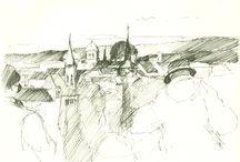 urban sketches / skizzen im urbanen raum