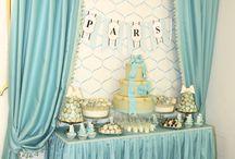 Tiffany&Co Themed Baby Shower