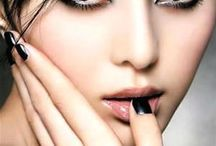 Asian Makeup Ideas / Smokey eyes, red lips, color makeup ideas for asian girls