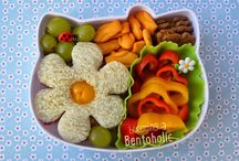 Food:Bento Ideas / Fun Kids Bento Food Ideas