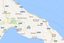 Puglia maps