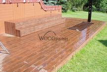 Terasa s vířivkou / #woodparket #dřevo #zahrada #terasy #architektura