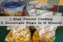 Freezer Cooking / by Marcie Blume