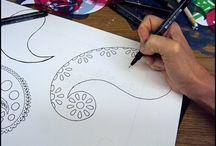Draw paisley
