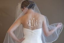 Monogram Wedding Ideas / Here are some creative ways to incorporate your monogram or initials into your rustic wedding.