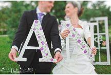 COLOR TREND - PURPLE / Свадьба в фиолетовом цвете. Идеи по декору свадьбы, оформление, сервировка стола; букеты невесты.
