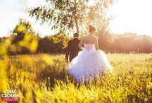 Wedding session in nature