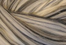Ashland Bay Solid-colored Merino Wool - The Neutrals / Ashland Bay Solid-colored Merino Wool for Felting and Spinning. This combed top has a micron count of 21.5 and a staple length of 70mm/2.5 inches. The more than 70 colors are inspired by nature! Available at www.theyarntree.com