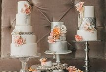 Wedding {peach} / by {glitter + whiskey}