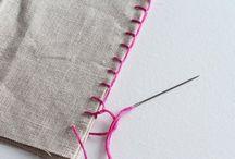 Projetos de costura à mão