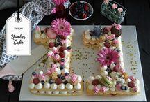 Letter-Cakes