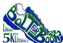 Bolt for Books: Library 5K for Literacy / The Cabell County Public Library and Tri-State Literacy Council are hosting a 5K! November 8, 2014, 8:00 a.m. Check-in begins at 7:00 a.m. Ritter Park, Huntington, WV For more information contact: breana.bowen@cabell.lib.wv.us Cabell County Public Library 455 9th Street, Huntington, WV 25701 • 304-528-5700 To register visit: www.tristateracer.com