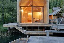 Dom jezioro